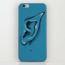 I am listening - and I am an Alien iPhone Skin