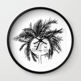 Green-Minded Wall Clock