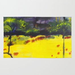 Endless Abstract Landscape Rug