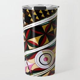 Color Me a Rainbow Colorful Spanish Church Ceiling Travel Mug