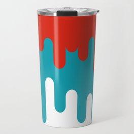 Drips and Drops - Smurf Travel Mug