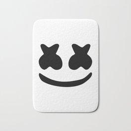 Marshmello smile Bath Mat