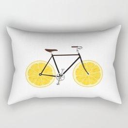 Lemon Bike Rectangular Pillow