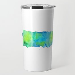 Puerto Rico Map Travel Mug