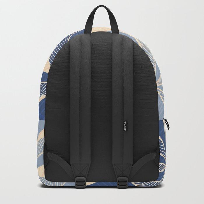 Modern Hawaiian Print II Backpack