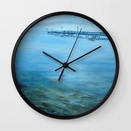 Ohrid lake, Pogradec - Albania Wall Clock