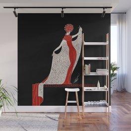 "Art Deco Fashion Design ""Alphabet Cloak"" Wall Mural"