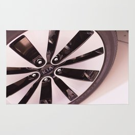 Kia Optima Wheel Rug