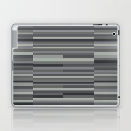 Gray Stripes Laptop & iPad Skin