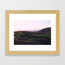 Hidden Valley Framed Art Print