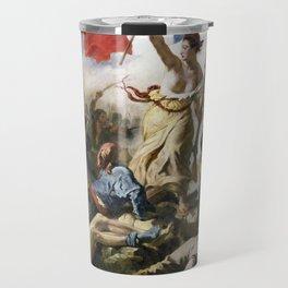 Lady Liberty of the French Revolution Travel Mug