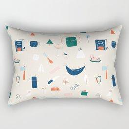 Camp Things Rectangular Pillow