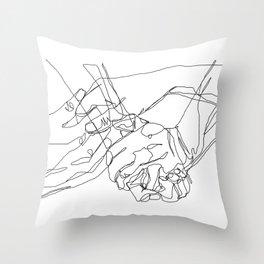 Caress & Crush Throw Pillow
