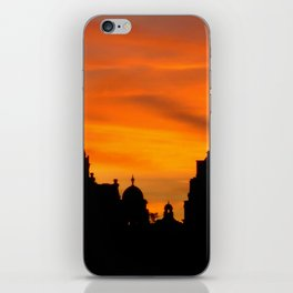 London Sunset in sillouette bywhacky iPhone Skin