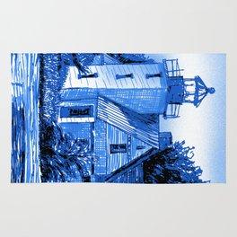 Light House: Blues Rug