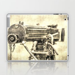 Vickers Machine Gun Vintage Laptop & iPad Skin