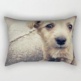 homeless Rectangular Pillow