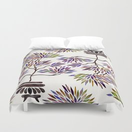 Bonsai Tree – Vintage Palette Duvet Cover