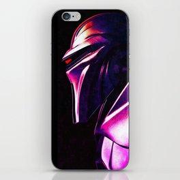 """""""Some Kinda' Crazy, Frakked Up Cylon Signal..."""" iPhone Skin"""