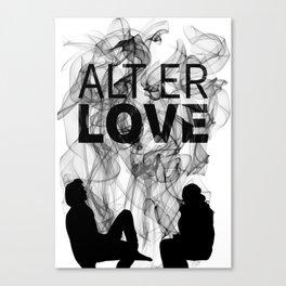 Alt er Love Canvas Print