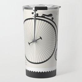 Penny Farthing 1891 Travel Mug