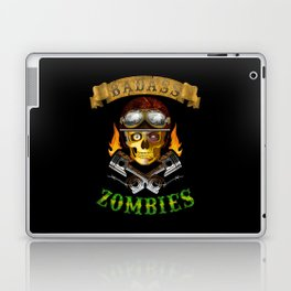 Badass Zombies Laptop & iPad Skin