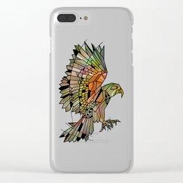 Kea New Zealand Bird Clear iPhone Case