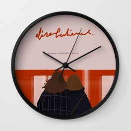 DISOBEDIENCE Wall Clock