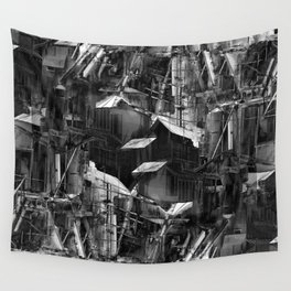 Post-Modern Industrial Complex:  The Art of Regressing Wall Tapestry