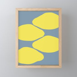 Lemons Framed Mini Art Print