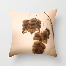 Rattlesnake Grass Throw Pillow