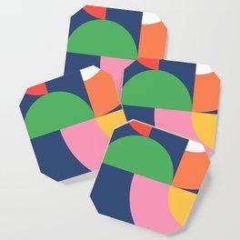Abstract Geometric 16 Coaster