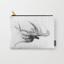 Octopus Rubescens Carry-All Pouch