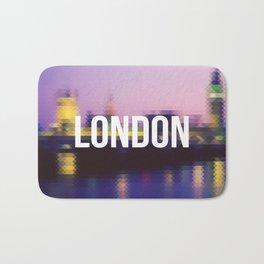 London - Cityscape Bath Mat