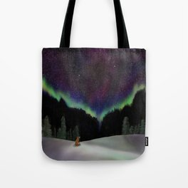 Captured by the night Tote Bag