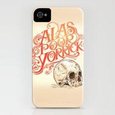 Hamlet Skull iPhone (4, 4s) Slim Case