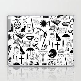Buffy Symbology, Black Laptop & iPad Skin