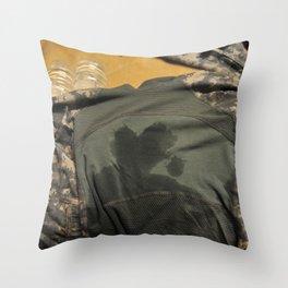 Guarding My Heart Throw Pillow