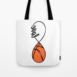 Love Basketball Forever - Infinity Love Basketball Tote Bag