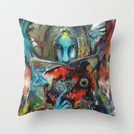 Octo Throw Pillow