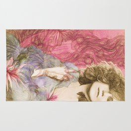 Maria Rita - Study for a portrait Rug
