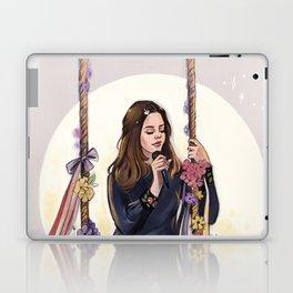 LA to the moon Laptop & iPad Skin