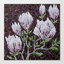 Kay Rouse Flowers Artwork Canvas Print