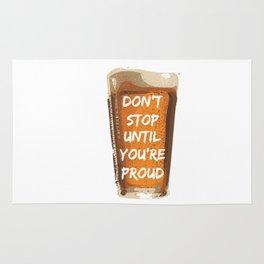 Drink with pride Rug