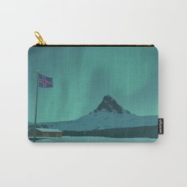 Iceland Flagpole Carry-All Pouch