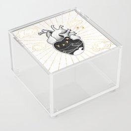 Desert Heart Inktober :: More Magick Acrylic Box