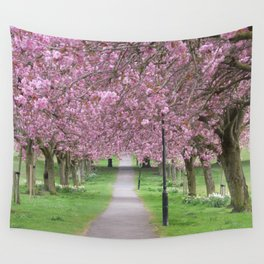 Blossom Trees Wall Tapestry
