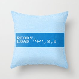 Ready to Get Loaded (screen) Throw Pillow