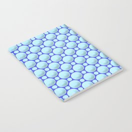 Blue marbles Notebook