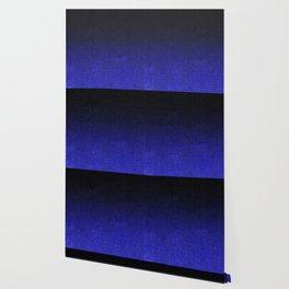 Blue & Black Glitter Gradient Wallpaper